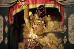 Porträt des Mädchens im Tanz Stockbilder