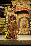 Porträt des Mädchens im Tanz Stockfoto