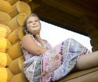 Porträt des Mädchens von 10 Jahren. Lizenzfreie Stockfotografie