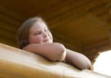 Porträt des Mädchens von 10 Jahren. Lizenzfreies Stockbild