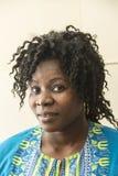 Porträt des Mädchens von West-Afrika lizenzfreies stockfoto