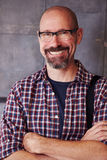 Porträt des männlichen Designers In Modern Office Stockfotos