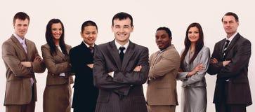 Porträt des multiethnischen Geschäftsteams Stockfotos