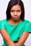 Afroes-amerikanisch Mädchen lizenzfreie stockfotos