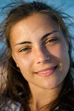 Porträt des schönen Mädchens stockbilder
