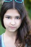 Porträt des schönen Mädchens 15 Jahre Stockbilder