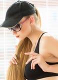 Porträt des sexuellen Modells Lizenzfreies Stockbild