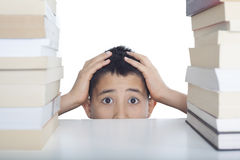 Porträt des Sorgestudenten Lizenzfreies Stockfoto