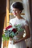 Porträt einer Braut lizenzfreie stockfotografie