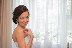 Porträt einer Braut Lizenzfreies Stockfoto