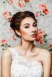 Porträt einer Braut Stockfotografie