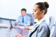 Porträt einer erfolgreichen Geschäftsfrau Lizenzfreie Stockbilder