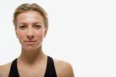 Porträt einer Frau lizenzfreie stockfotos