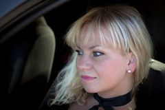 Porträt einer Frau Lizenzfreie Stockbilder