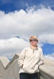 Porträt einer Frau Lizenzfreies Stockbild