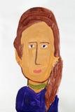 Porträt einer Frau Stockfoto