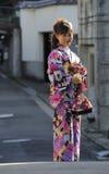 Porträt einer Geisha Lizenzfreies Stockfoto