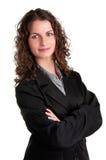 Geschäftsfrau-Lächeln Stockfoto