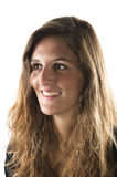 Porträt einer jungen Frau Lizenzfreie Stockfotos