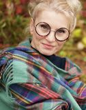 Porträt einer jungen Schönheit blond Lizenzfreie Stockfotos