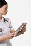 Porträt einer Krankenschwester Lizenzfreie Stockfotografie