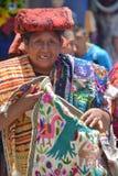 Porträt einer Mayafrau Stockfotos