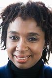 Porträt einer reifen Frau lizenzfreies stockbild