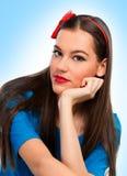 Porträt einer schönen Frau lizenzfreie stockfotografie