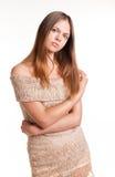 Porträt einer schönen jungen Frau stockfoto