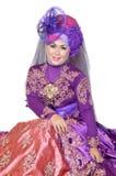 Porträt einer schönen moslemischen Frau Stockbild