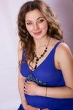 Porträt einer schönen schwangeren Frau Lizenzfreie Stockfotografie