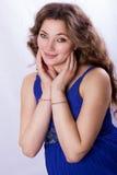 Porträt einer schönen schwangeren Frau Stockfoto