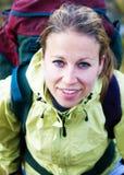 Porträt eines Adventurist im Freien Stockfotografie