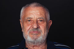 Porträt eines alten Mannes 2 Lizenzfreie Stockfotos