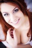 Porträt eines attraktiven jungen Mädchens. Stockfotos