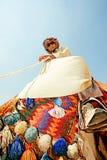 Porträt eines Beduinen lizenzfreie stockbilder