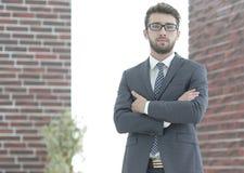 Porträt eines erfahrenen Rechtsanwalts Stockfoto