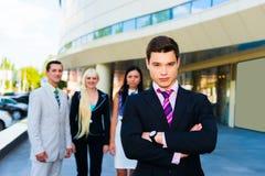 Porträt eines erfolgreichen Geschäftsmannes Lizenzfreie Stockbilder
