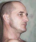 Porträt eines erwachsenen Mannes Lizenzfreie Stockfotos
