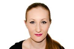 Porträt eines europäischen Mädchens. Lizenzfreie Stockfotos