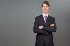 Porträt eines Geschäftsmannes Lizenzfreies Stockfoto