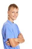 Porträt eines glücklichen Teenagers Lizenzfreie Stockbilder
