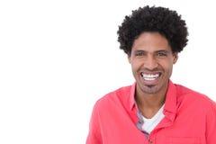 Porträt eines glücklichen zufälligen Mannes Lizenzfreie Stockfotos