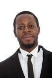 Porträt eines hübschen afrikanischen Mannes Lizenzfreie Stockfotografie