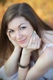 Porträt eines hübschen Mädchens Lizenzfreies Stockfoto