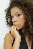 Porträt eines hübschen Mädchens Lizenzfreies Stockbild
