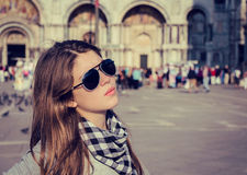Porträt eines hübschen Mädchens Lizenzfreie Stockbilder