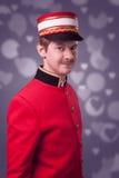 Porträt eines Hausmeisters (Träger) Lizenzfreies Stockbild