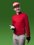 Porträt eines Hausmeisters (Träger) Lizenzfreie Stockfotos