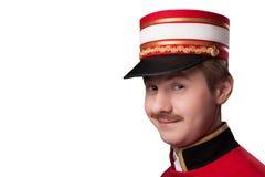 Porträt eines Hausmeisters (Träger) Lizenzfreies Stockfoto